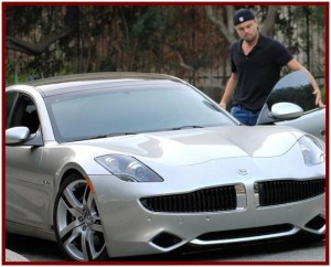 AutoInformed.com Fisker Karma and DiCaprio