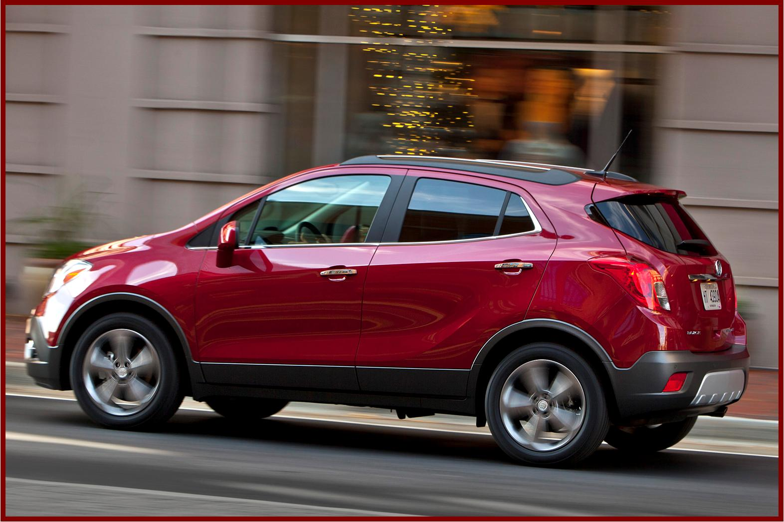 2013 buick encore the compact suv for fans of cute and. Black Bedroom Furniture Sets. Home Design Ideas