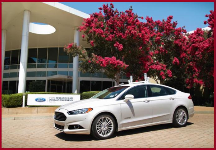 Ford Ride-Sharing Autonomous Vehicle